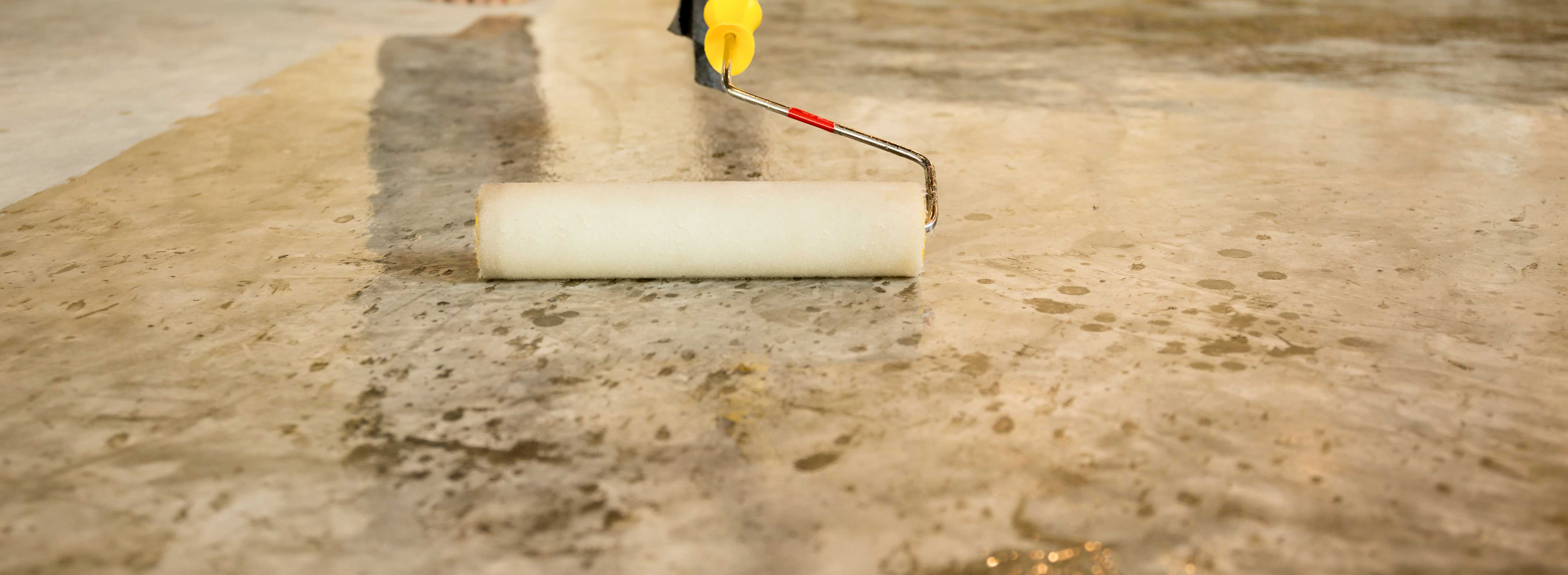 Concrete Floor Sealing Cleaning