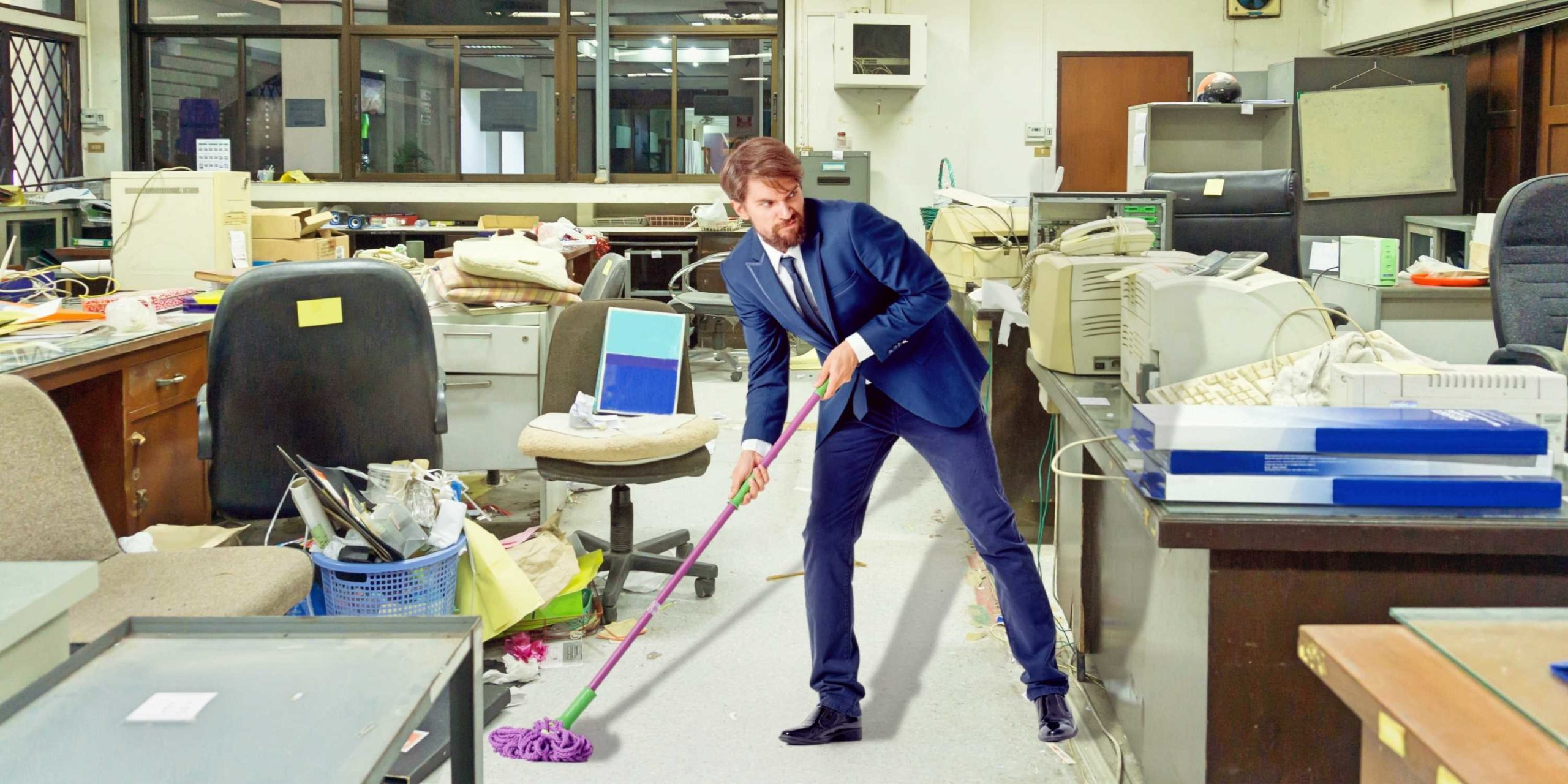 Dangers of Employees Performing Office Cleaning Services in Springfield Missouri